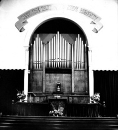 Unitarian Church Organ, 1887