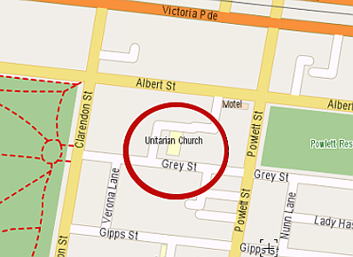 Grey St Map